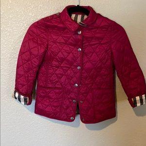 🧸Girls Burberry Jacket